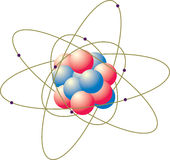 Atomi Immagini Stock