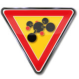 Atomi e chimica Fotografie Stock Libere da Diritti