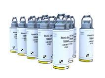 Atomic battery Stock Photography