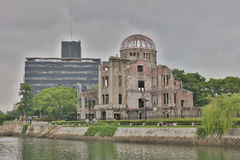 The Atomic Bomb Dome Royalty Free Stock Photo