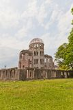 Atomic Bomb Dome in Hiroshima, Japan. UNESCO site Stock Images