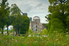 Atomic Bomb Dome at Hiroshima Royalty Free Stock Photos