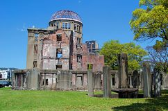 Atomic Bomb Dome, Hiroshima Peace Memorial. Japan Royalty Free Stock Photos