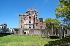 Atomic Bomb Dome, Hiroshima Peace Memorial. Japan Royalty Free Stock Images