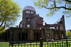 Atomic Bomb Dome, Hiroshima Peace Memorial. Japan Royalty Free Stock Photo