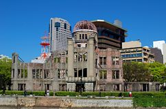 Atomic Bomb Dome, Hiroshima Peace Memorial. Japan Stock Photos