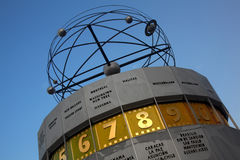 Atomic clock, Alexanderplatz, Berlin Royalty Free Stock Photos