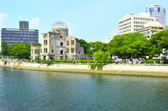 Atomic Dome in Hiroshima memorial Stock Photography