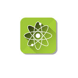 Atomic Energy Ecology Atom Icon Stock Photo