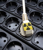 Atomic engineering  dangerous Royalty Free Stock Photo