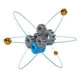 Atomic Gears Royalty Free Stock Image
