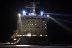 Atomic icebreaker Vaigach Stock Images
