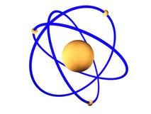 Atomic model Royalty Free Stock Image
