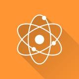 Atomic model icon Stock Photo