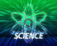 Atomic nuclear energy science Stock Photos