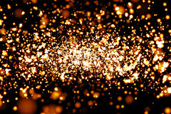 Atomic Particles 3D render Stock Photography