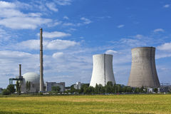Atomic plant Stock Image