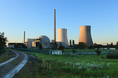 Atomic power plant Royalty Free Stock Photography