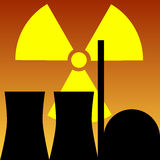 Atomic Power Station Royalty Free Stock Images