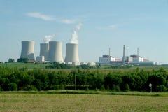 Atomic power station. Temelin in Czech republic Royalty Free Stock Photo