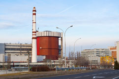 Atomic power station Stock Image