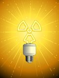 Atomic powered lightbulb Stock Photos