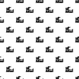 Atomic reactor pattern vector seamless. Repeating for any web design Royalty Free Stock Photography
