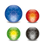 Atomic sphere Stock Photos