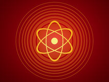 Atomic structure Stock Image