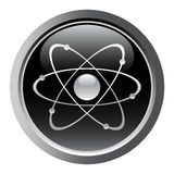 Atomic symbol Stock Photos