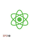 Atomikone für Netz und Mobile Stockbild