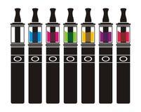 Atomizador com lliquid colorido Foto de Stock