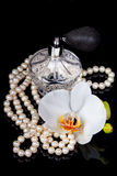 atomizatoru butelki luksusowy pachnidło Obraz Stock