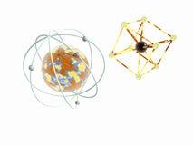 atomjärnmolekyl Arkivbild