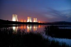 Atomkraftwerk Stockbild