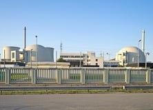 Atomkraftwerk Biblis Stockfotos