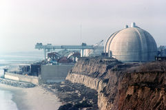 Atomkraftwerk San Onofre Stockfotografie