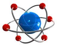 atommodell Arkivfoton