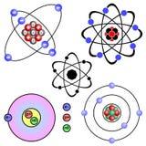 Atomo. illustrazione di stock