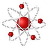 atomo 3D Immagini Stock
