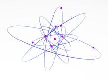 Atomo di ossigeno Fotografie Stock Libere da Diritti