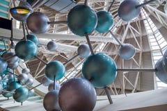 Atomo molecolare Fotografia Stock