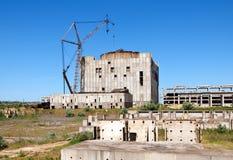 atomowa zniszczona elektrownia Zdjęcia Royalty Free