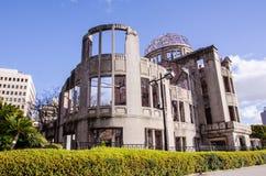 Atomowej bomby kopuła budynek był szturmowa atomową bombą w worl Obrazy Stock