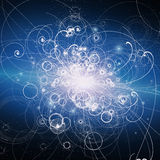 Atomowi elementy ilustracji