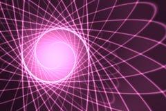 atomowy cząsteczki tło jako temat fizyka ilustracja wektor