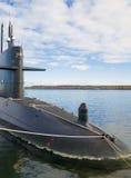 Atomowy okręt podwodny zdjęcie stock
