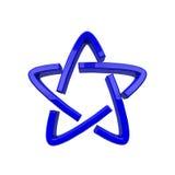 Atomowy symbol Obraz Stock
