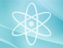 atomowy symbol Zdjęcie Royalty Free