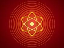 Atomstruktur Stockbild